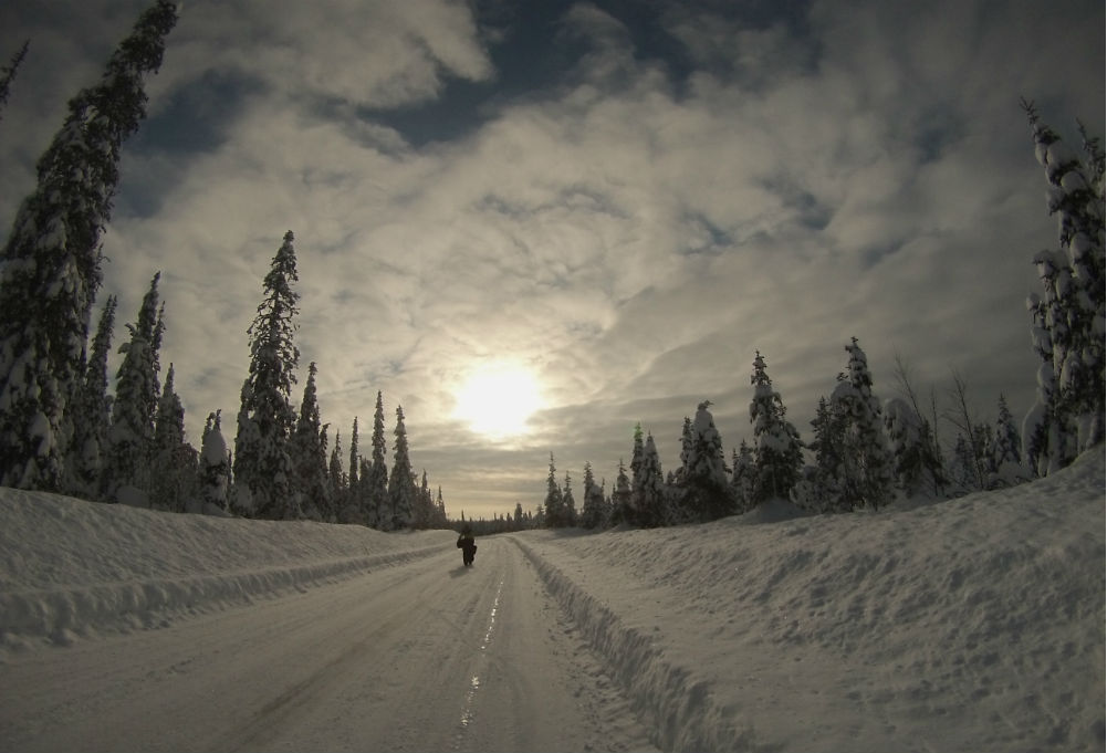 Extrémní závod Lapland Extreme Challenge